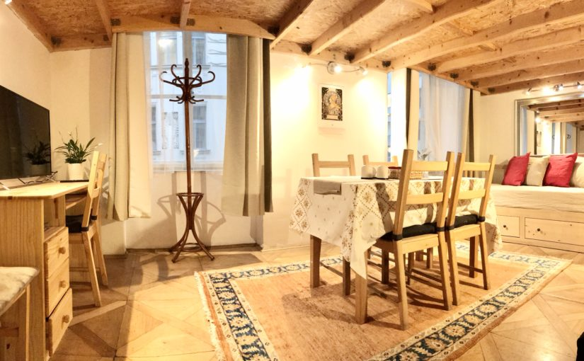 Find cozy accommodation in Prague Old Town Airbnb loft. We are in very center, next to Jewish Quarter and ancient St.Agnes monastery.